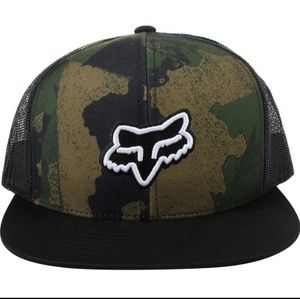 Men - Fox Carnage Snapback Hat